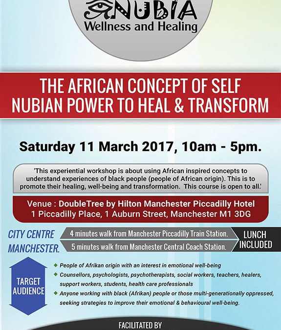 The African Concept of Self –  Nubian Power to Heal & Transform