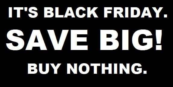What Makes 'Black Friday Black'? When is it okay to get on the bandwagon?